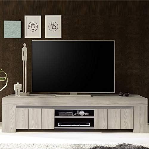 Mueble TV Moderno Color Madera Gris Murano: Amazon.es: Hogar