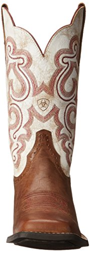 Boot Distressed Ariat 5 6 Chocolate Sandstorm US B Work Womens Tack Room Quickdraw White q7p7UrBt
