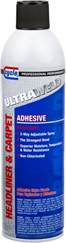 Niteo Cyclo ULTRAWELD Headliner & Carpet Adhesive, Aerosol Spray, 14.25 fl oz by Niteo