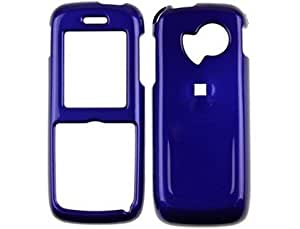 Hard Plastic Phone Protector Case Dark Blue for Huawei M228