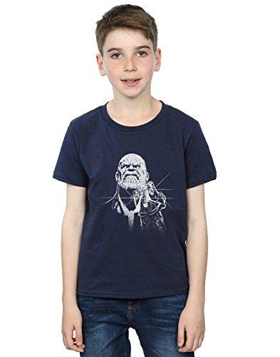Absolute di Infinity Thanos T di Shirt della scuro maglietta di Cult Thanos Avengers blu ZBxvRwpqf