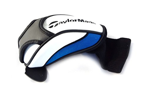 Black Hybrid Headcover (NEW TaylorMade Universal SLDR/JetSpeed White/Blue/Black Hybrid/Rescue Headcover)