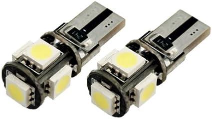 T105W - Blanco Canbus SMD LED lámpara bombilla de repuesto luces ...