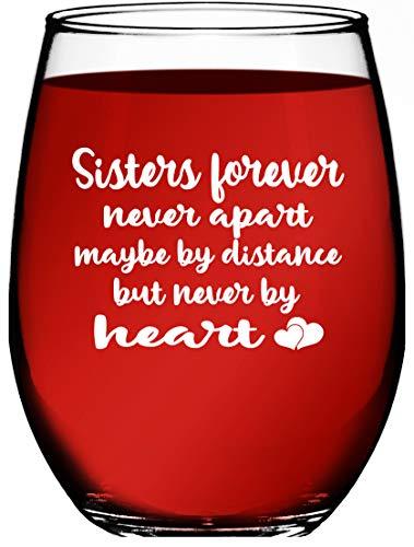 sister wine glass - 6