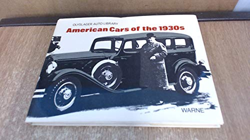 American Cars of the 1930s (Olyslager Auto Library)
