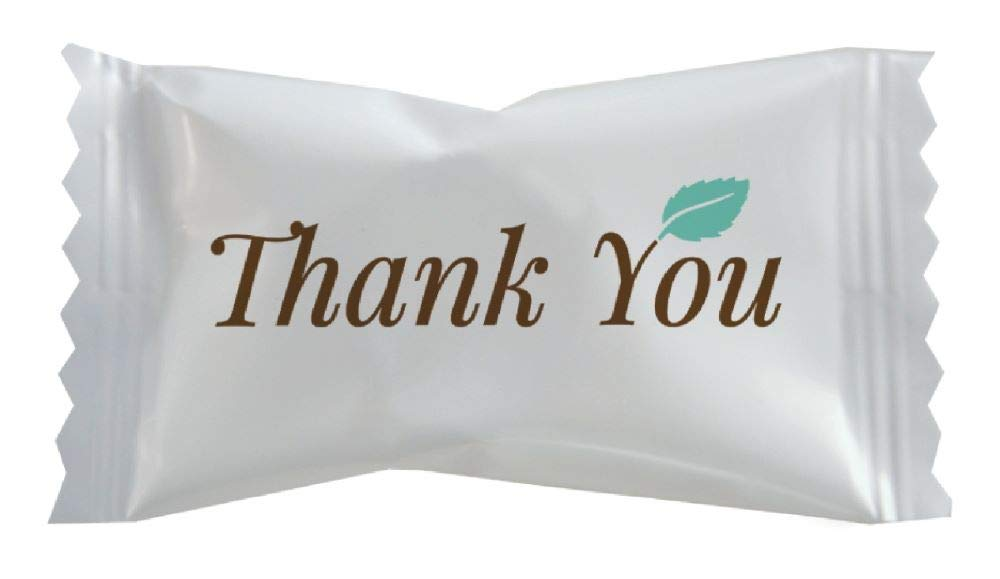 Amazon Com Hospitality Mints Individually Wrapped Mints With Thank You Message Buttermint 26 Oz Grocery Gourmet Food