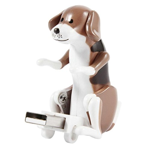 Makalon Funny Cute USB Pet Humping Spot Dog Toy Relief Stress Christmas Gift LOT - Spot Usb Dog