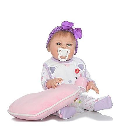 Amazon.com: Cuerpo completo silicona bebés recién nacidos ...
