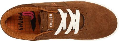 Fallen VICE TOY MACHINE 41070059 - Zapatillas de skate de ante para hombre Caramel/Sudan