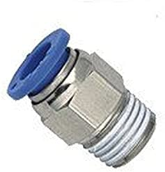 Pack of 10 2 Position Hand Operated Lever MettleAir 4HV210-06 Pneumatic Air Valve 4 Way 1//8 NPT