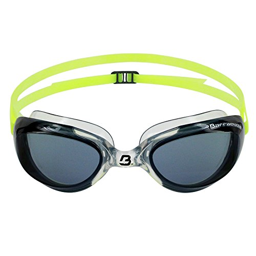 Barracuda Swim Goggle AQUAVIPER - One-piece Frame Soft Seals Streamlined Design, Anti-Fog UV Protection, Comfortable Fit Lightweight, Fashion Premium Quality for Adults Men Women #92055 - Streamlined Fit