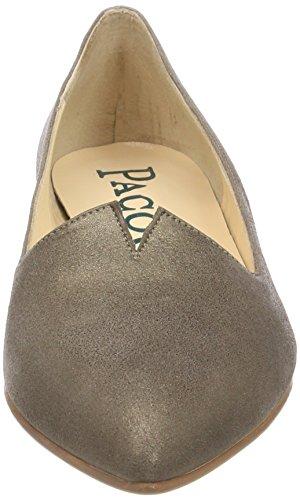 Paco Gil Dames P-3388 Gesloten Ballerina Bruin (taupe)