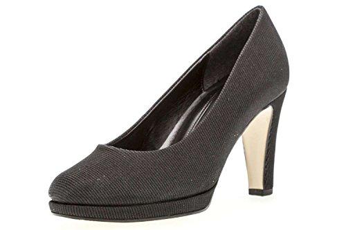 67 Fashion Schwarz Black Heels Closed Women´s Toe Gabor pU600q