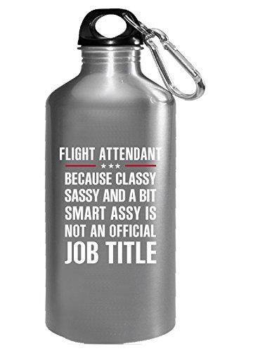 Gift For Classy Sassy Smart Assy Flight Attendant - Water (Attendant Mug)