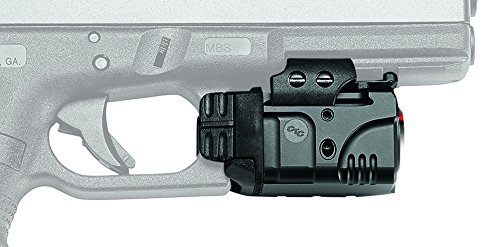 Crimson Trace CMR-205 Rail Master Pro Universal Red Laser Sight + Tactical Light by Crimson Trace