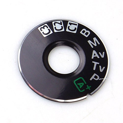 FANSONG Mode Dial Sticker Turntable Replacement Part for Canon EOS 5D Mark III