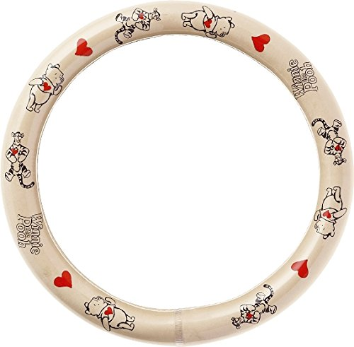 Wheel The Cover Steering Pooh Winnie (BONFORM (Bonn form) handle cover Disney Pooh Love & amp; Pooh size S beige 6824-01BE)
