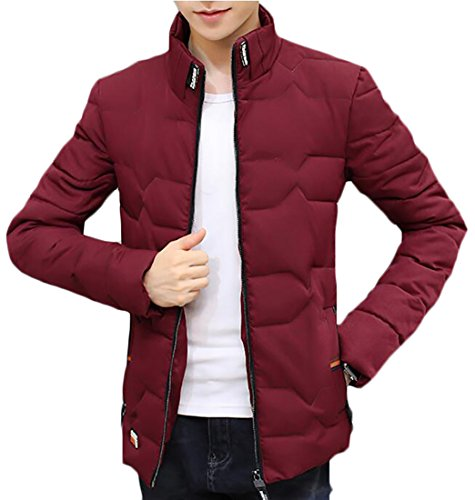 Coats Stand 1 UK Men today Long Sleeved Zipper Wram Down Collar UaOzq