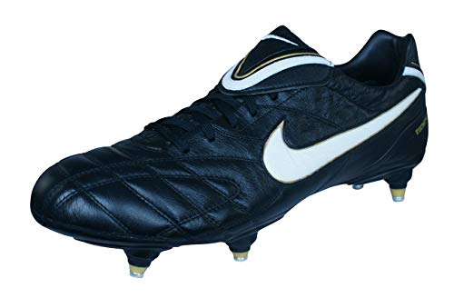 Nike Tiempo Legend III SG Mens Leather Soccer Cleats-Black-14