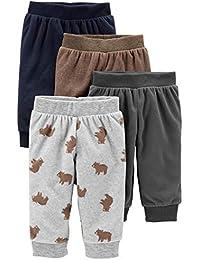 Baby Boys' 4-Pack Fleece Pants