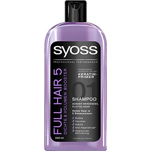 Syoss Full Hair 5 Density & Volume Booster Shampoo 16.9 fl oz