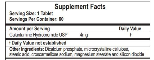 Galantamine - Lucid Dreaming & Nootropic Supplement - 4 Mg - 60 Tablets by Double Wood Supplements (Image #5)