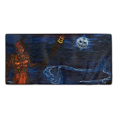HEHESELL Halloween Guild Wars Beach Towel Sunset Towels for Girls Teen Men -
