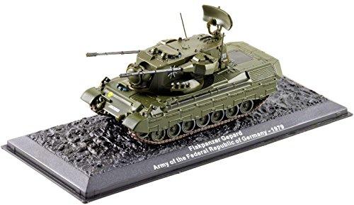 Deagostini 1:72 Diecast Model Tank - Flakpanzer Gepard Army Of The Federal Republic Of Germany 1979 Army Tank #30