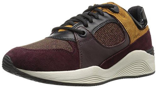 Geox Women's Womaya10 Walking Shoe - Dark Burgundy - 42 M...