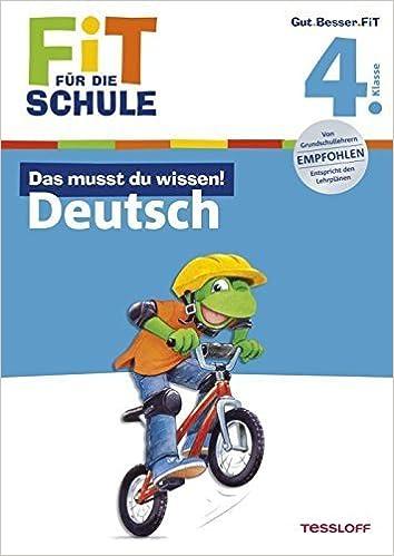 Book Fit f???r die Schule: Das musst du wissen! Deutsch 4. Klasse by Gramowski, Kirstin (2011)