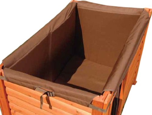 Precision Pet Products Outback Log Cabin Style Insulation Kit for Dog House, Large For Sale