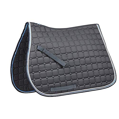 Quilted Pony - Saxon Coordinate Quilted AP Saddle Pad Pony Blue