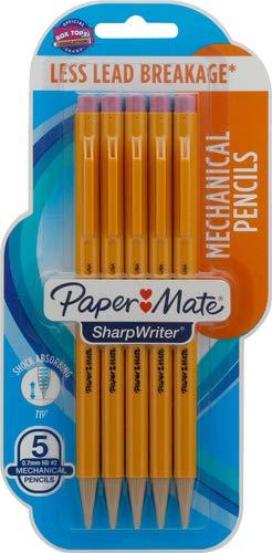 Portaminas 0.7mm Paper mate.e-sharpWriter Twistable Tip Pack