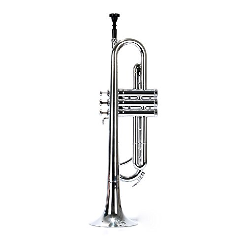 PAMPET Professional Plastic Trumpet Bb trumpet (Silvery) by PAMPET