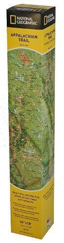 Appalachian Trail Wall Map [Boxed] (National Geographic Reference Map)