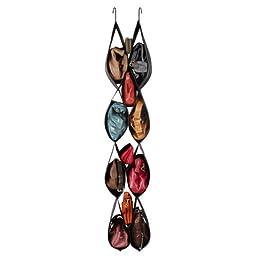 Umbra Pocketta Hanging Shoe/Handbag Organizer, Black