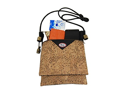 Multi B in Pocket for Plan Bag natural Shoulder Bag Women Baco Travel cork Crossbody Mod P5g0qx