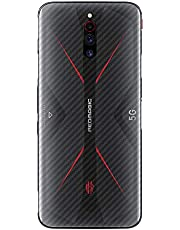 XINKOE Back Protector Flim for Nubia Red Magic 5G, [4 Pack] 0.1mm Ultra Slim Scratchproof Soft Back Film, [Anti-fingerprint] [Non-slip] [Transparent]