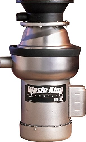 - Waste King 1000-3 1 HP Commercial Food waste disposer