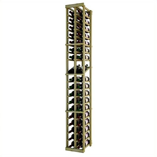 Wine Cellar Innovations Designer Series 72'' 2-Column Wine Rack with Display Shelf