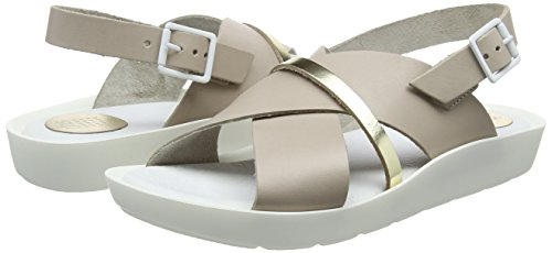 Tbs grege Beige Femme Champagne Ouvert Bout B83 Sandales Nymphea PvYwqSrP