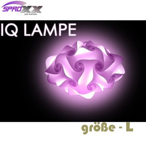 Dekoleuchte, Iq Lampe L, Puzzle Lampe, Tischleuchte