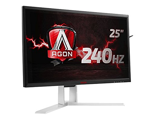 "AOC AGON AG251FZ 24.5"" Gaming Monitor, FreeSync, FHD (1920x1080), TN Panel, 240Hz, 1ms, Height Adjustable, DisplayPort, HDMI, USB"