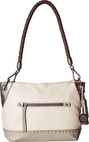 The Sak Women's Indio Leather Demi Shadow Sparkle Block Handbag by The Sak