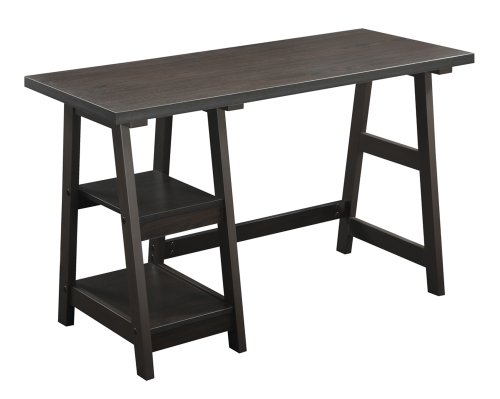 Convenience Concepts Designs2Go Trestle Desk,...