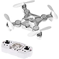 FUQI 4 Channels 6 Axis Gyro 2.4 Ghz Remote Controlled Rechargeable Mini Quadcopter Helicopter Rotatable Motor Arm Drone(Silver)