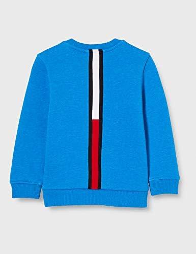 TOMMY HILFIGER Boys Back Insert Cn Sweatshirt Sweater