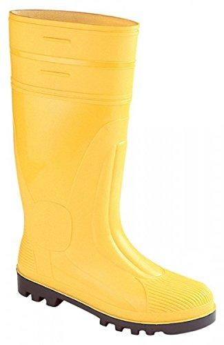 Hausmarke , Chaussures de sécurité pour homme Jaune 46.0