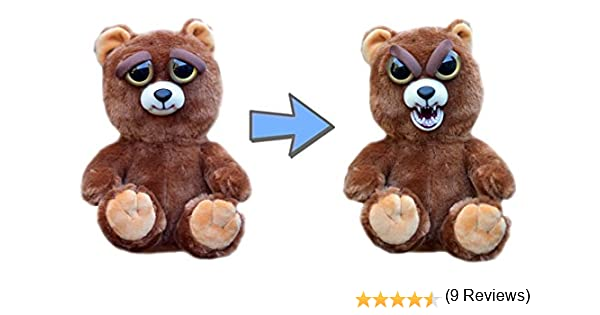 William Mark Feisty Pets Sir Growls-A-Lot- Adorable Plush Stuffed Bear that Turns Feisty with a Squeeze, 8.5 L by William Mark: Amazon.es: Juguetes y juegos