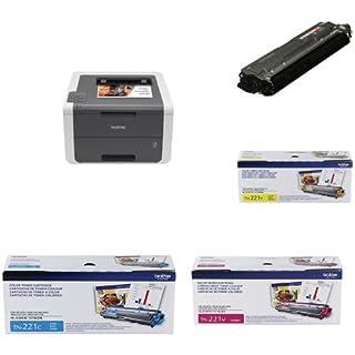 Brother HL-3140CW Digital Colour Laser Printer with TN221 Black + Colour Toners (Yellow, Magenta, Cyan) (B01MSQNEEK) | Amazon price tracker / tracking, Amazon price history charts, Amazon price watches, Amazon price drop alerts